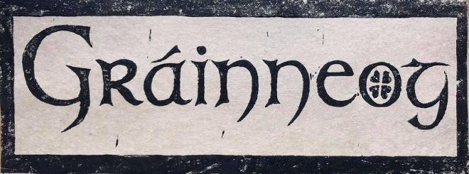 Logo of Waiheke Islands famous Grainneog Folk Band
